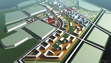 Проект жилого микрорайоне Город мастеров