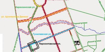 Пушкин, новые улицы