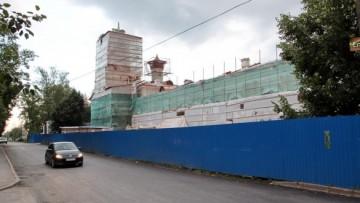 Реконструкция церкви Сергия Радонежского в Пушкине