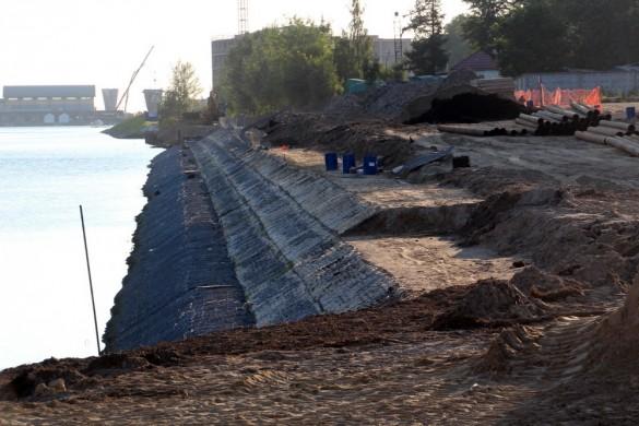 Реконструкция набережной Мартынова