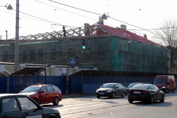 Ремонт заводоуправления Стеаринового производства