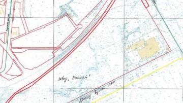 Северный участок дороги вокруг завода Ниссан