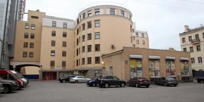 Щербаков переулок, 12, вид со двора