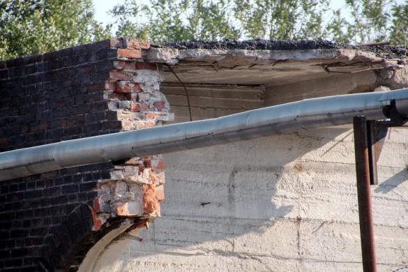 Снос здания на Рыбинской