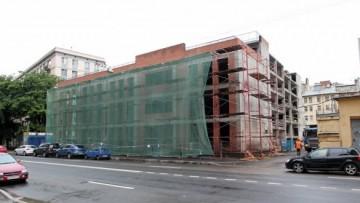 Строительство бизнес-центра на Киевской улице, 4