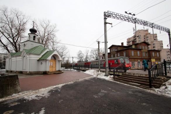 Тихвинская часовня в Сестрорецке