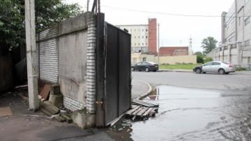 Ворота на Булавского