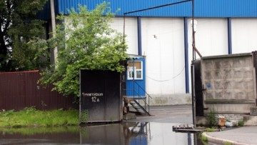 Ворота на улице Булавского