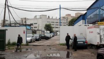 Забор на улице Булавского