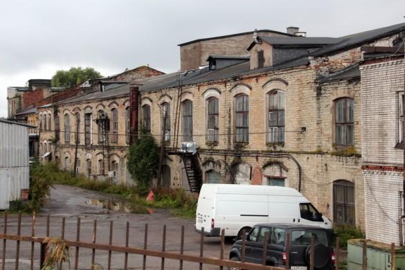 Здание бумагоделательных машин бумажной фабрики Печаткина