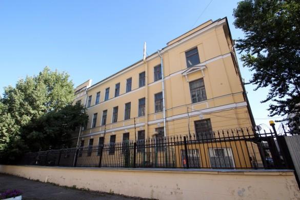 Здание химической лаборатории на Госпитальной улице