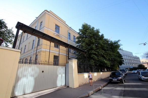 Здание химической лаборатории на Парадной улице