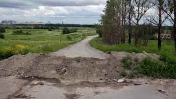 Земляной вал на Шушарской дороге