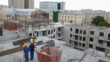 Строительство ЖК «Преображенский»