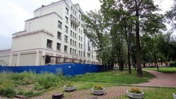 Жилой комплекс Офицерский со стороны двора
