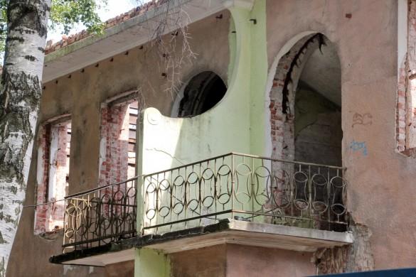 Балкон Дома с ангелом