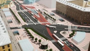 Реконструкция Сенной площади от Красивого Петербурга