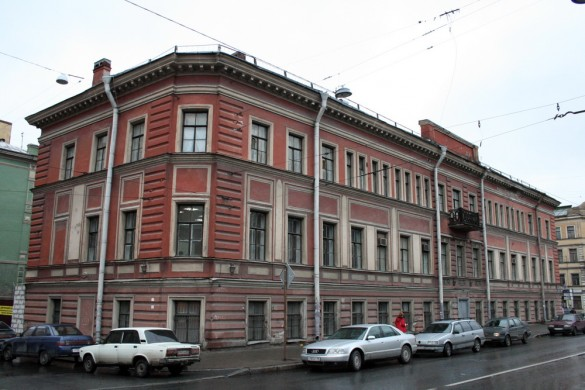 Лиговский проспект, 1, до реконструкции