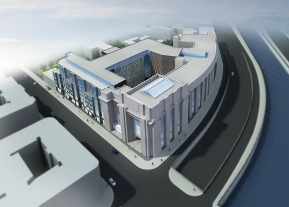 Новый корпус Фрунзенского универмага