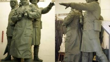 Памятник морякам полярного конвоя