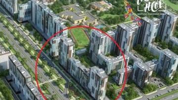 Первый жилой дом проекта Чистое небо на Комендантском