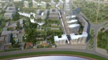 Проект развития бизнес-парка «Полюстрово»