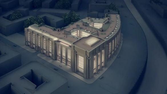 Реконструкция Фрунзенского универмага