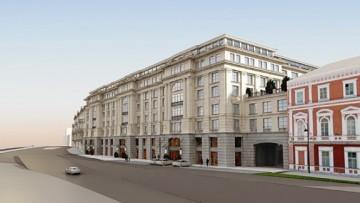 Набережная Робеспьера, 32, проект торгово-офисного центра