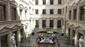 Проект перестройки дома Штакеншнейдера под отель