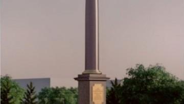 Стела Город воинской славы Кронштадт