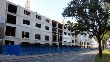 Строительство на Лиговском проспекте, 266
