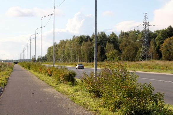 Тротуар улицы Новые Заводы