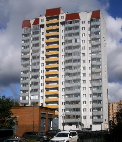 Улица Дыбенко, 42, корпус 3