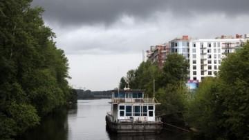 Устье реки Ждановки