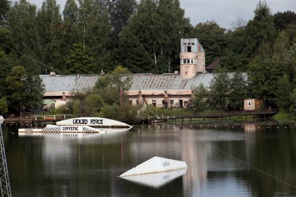 Водная база Озерки на Никольской улице