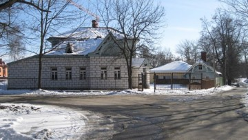 Дом Асмуса в Павловске до сноса