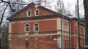 Дом церковно-приходской школы и причта Спасо-Парголовской церкви