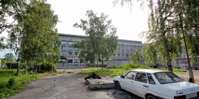 Двор у площади Стачек