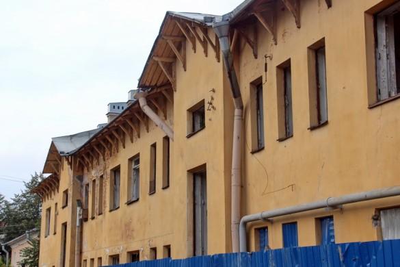 Дворовый фасад Стрельбищенской