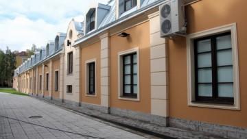 Фасады музея истории Кронштадта