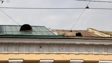 Ямской рынок, понизили крышу