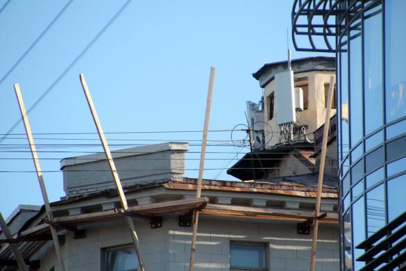 Крыша дома на Восстания