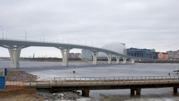 Мост на Крестовский остров (проект)