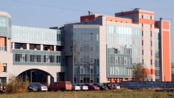 Новый корпус Университета телекоммуникаций