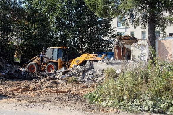 Петергофское шоссе, дом 76, корпус 20, снос