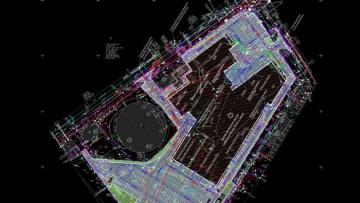План застройки газового завода