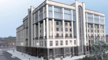 Проект центра РЖД у Балтийского вокзала