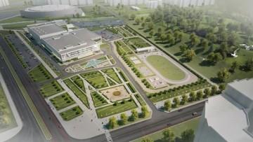 Проект спортивного комплекса СКА на Российском проспекте