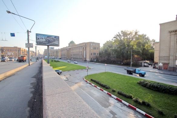 Съезд с моста Александра Невского