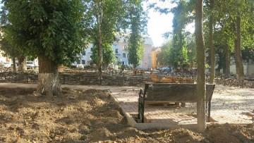 Сквер на Фонтанке